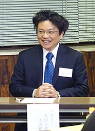 島田信用金庫主催の藤枝地区若手経営者勉強会